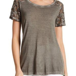 Dantelle Lace T-Shirt (L)